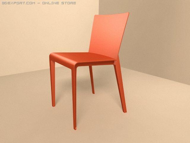 MolteniC Alfa chair 3D Model & MolteniC Alfa chair 3D Model in Chair 3DExport