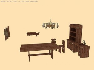 Old furniture collection