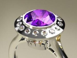 Platinum Ring 1CT  Brazil 2