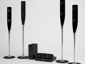 Home Theater CGAXIS electronics 09
