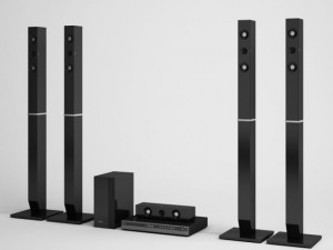 Home Theater Speakers CGAXIS electronics 07