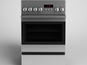 CGAxis Electric Stove 15