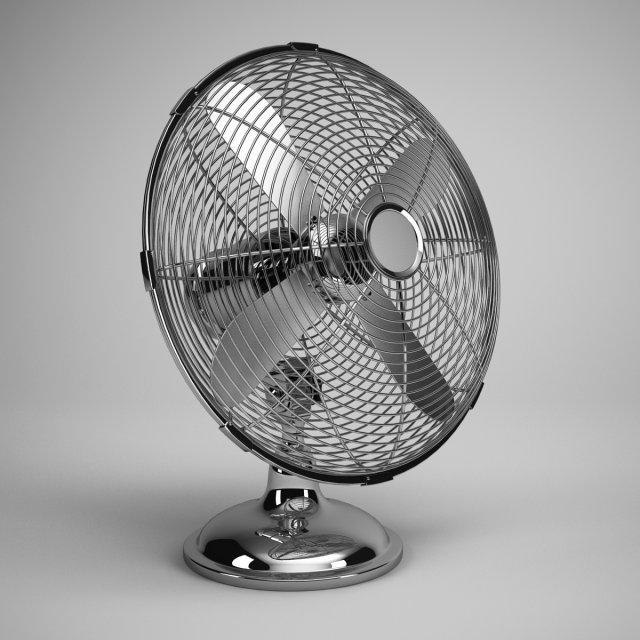 CGAxis Desk Fan 03 3D Model