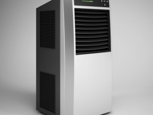 CGAxis Standing Air Conditioner 07