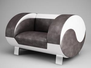 CGAxis Modern Armchair 17