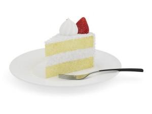 Piece of Cream Cake
