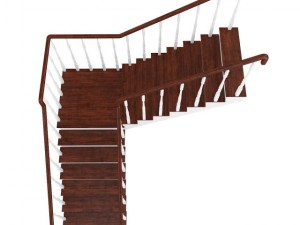Wooden Stairs 13