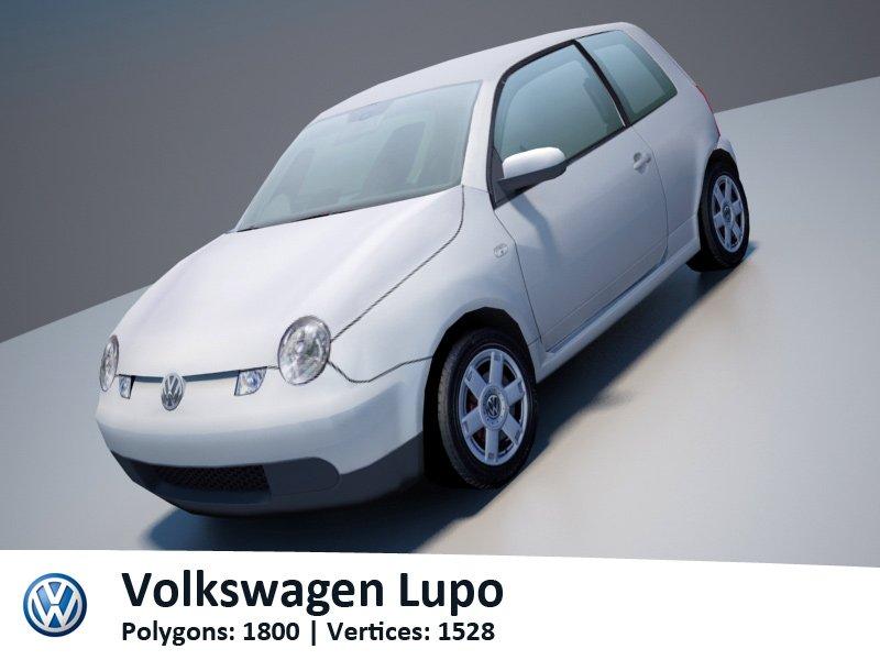 Vw lupo 3d model in compact cars 3dexport fandeluxe Gallery