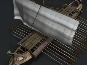Greek ancient ship