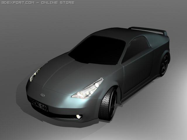 Toyota Celica 3D Model