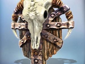 Fantasy Orcish Shield