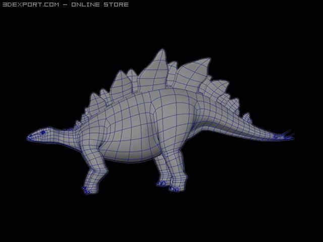 Stegosaurusrar 3D Model