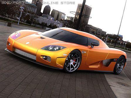 Koenigsegg CCX 3D Model