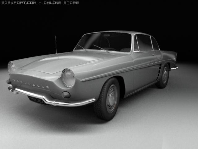 Renault Caravelle 3D Model
