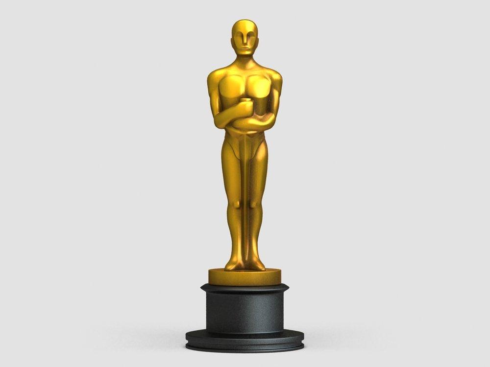 oscar award statue 3dモデル in 表彰 3dexport