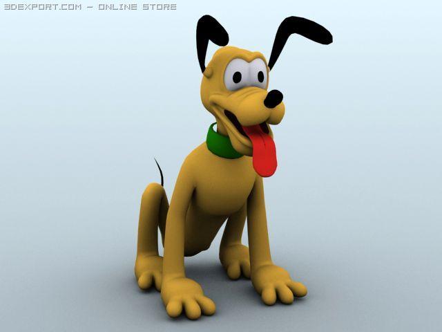 Pluto 3D Model