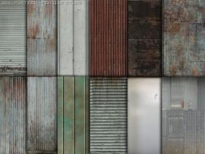13 metallic textures