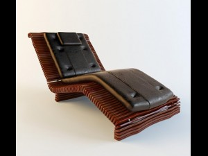 Lounge Pacific Green Luxor Chaise