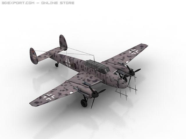 Messerschmitt bf 110 3D Model