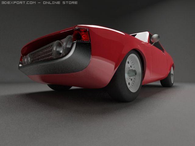 Toyota Celica 1600 3D Model