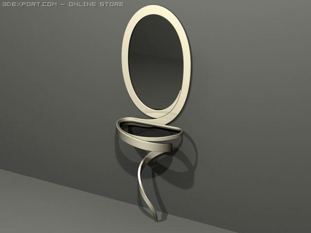 Pier glass 3D Model