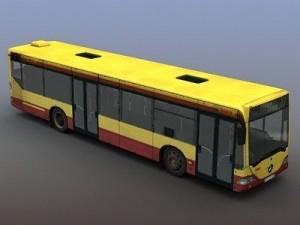 CityBus Mercedes Citaro Rigged