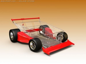 F1 Rally Shopping Cart