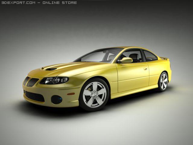 Pontiac GTO  Vauxhall Monaro 3D Model