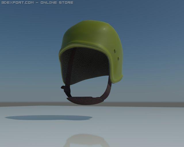 Russian Heavy Military Helmet 3D Model in Helmet 3DExport