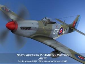 North American P-51K Mustang MK IV Anita RAAF