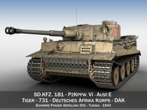 Panzer VI - Tiger - 731 - Early Production
