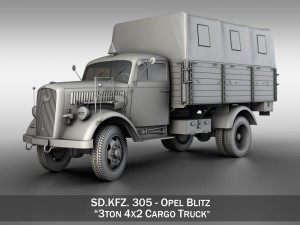 Opel Blitz - 3t Cargo truck