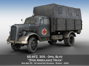Opel Blitz - Ambulance - SanAbt30