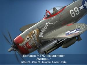 Republic P-47D Thunderbolt - Whoo