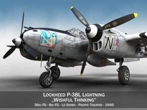Lockheed P-38 Lightning - Wishful Thinking