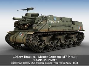 M7 Priest - Franche-Comte