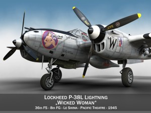 Lockheed P-38 Lightning - Wicked Woman