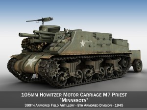 M7 Priest - Minnesota
