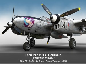 Lockheed P-38 Lightning - Vagrant Virgin