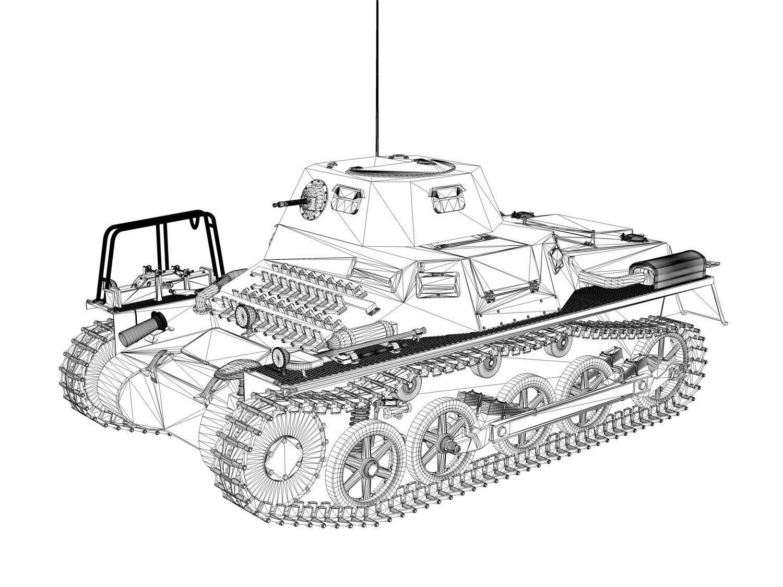 SDKFZ 265 klPzBefWg - Kleiner Panzerbefehlswagen 3D Model in Tank ...