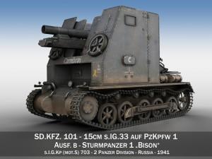 Sturmpanzer1 Bison Cambrai 2PzDiv