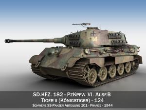 Panzerkampfwagen VI Ausf B Tiger II