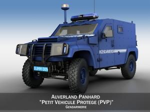 Auverland Panhard PVP - Gendarmerie