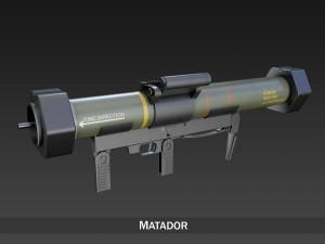 Antiarmor launcher Matador