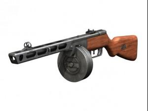 PPSh41  Soviet Submachine Gun