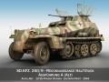 SD KFZ 250 Reconnaissance Halftruck 12 SS Pz