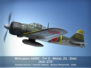 Mitsubishi A6M2 Zero Konoike Kokutai