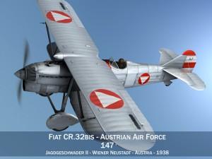 Fiat CR32 Austrian Air Force Jagdgeschwader II