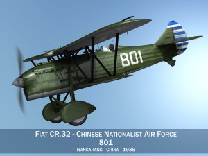 Fiat CR32 Chinese Nationalist Air Force
