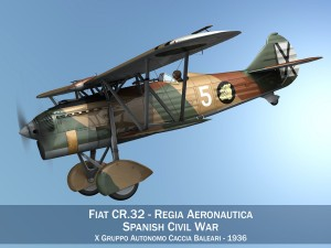 Fiat CR32 Italy Air Force X Gruppo